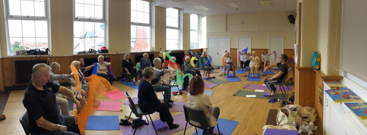 Gentle Years Yoga Class online